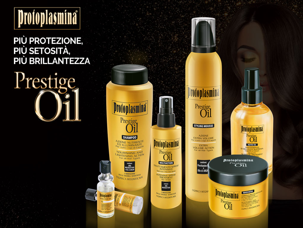 farmaca international nuova linea prestige oil